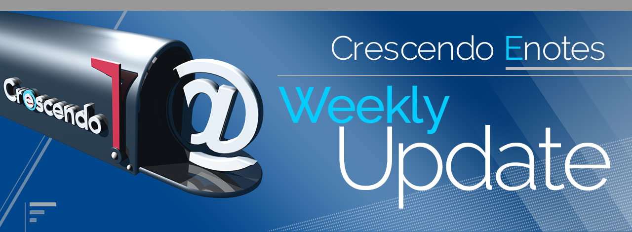 Crescendo Enotes - Weekly Update