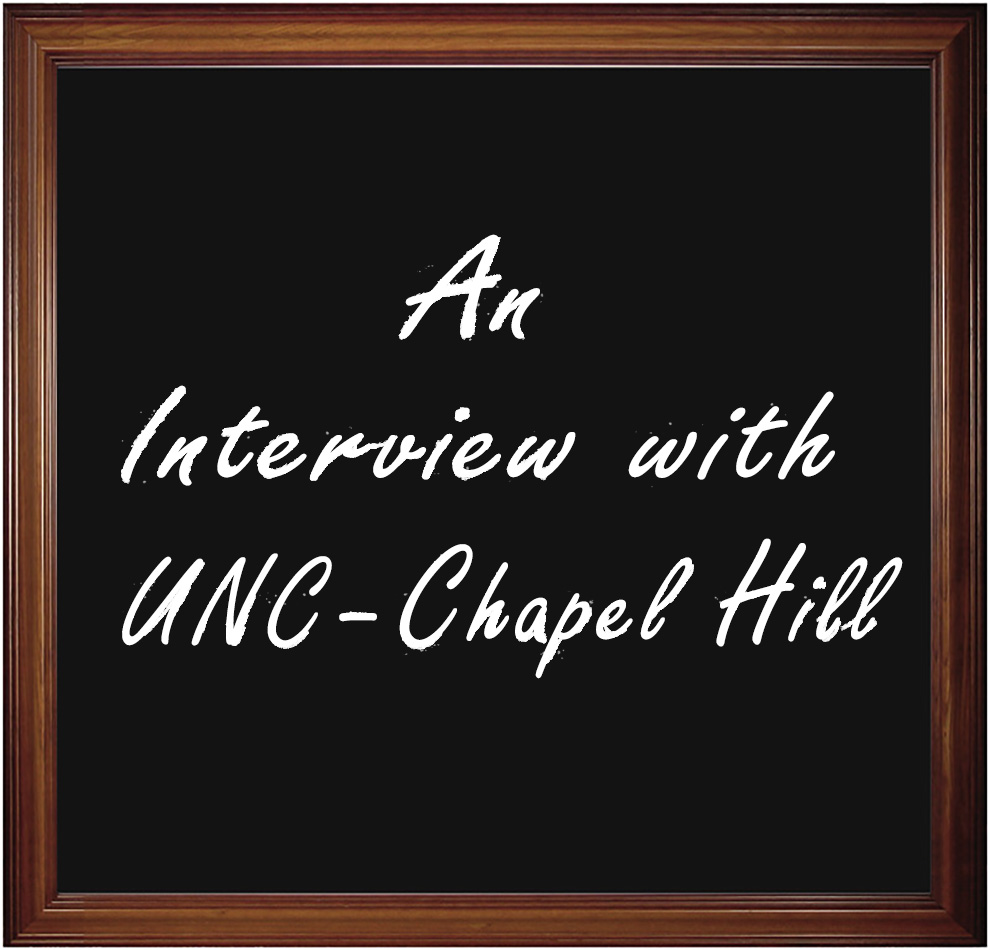 An Interview with The University of North Carolina at Chapel Hill